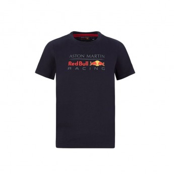 Red Bull Racing gyerek póló large logo navy F1 Team 2020