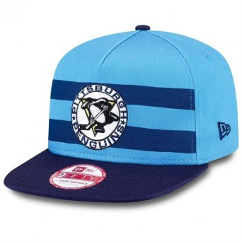 Pittsburgh Penguins Siltes sapka Double Stripe Snapback