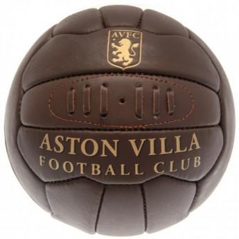 Aston Villa futball labda Retro Heritage Football - size 5