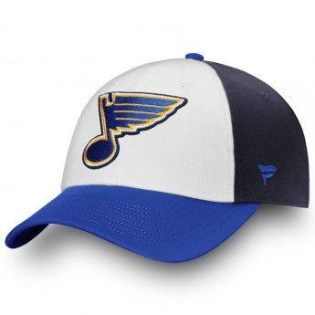 St. Louis Blues baseball sapka Iconic Fundamental Adjustable