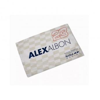 Red Bull Racing zászló Alexander Albon F1 Team 2020