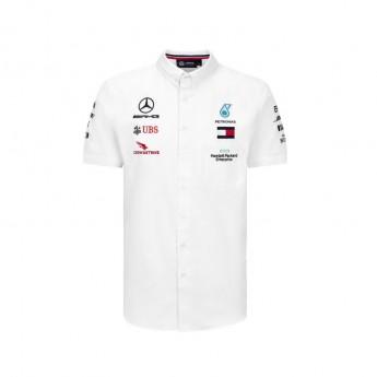 Mercedes AMG Petronas férfi ing white F1 Team 2020