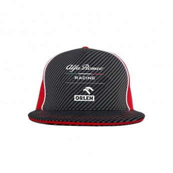 Alfa Romeo Racing baseball flat sapka brim redblack F1 Team 2020