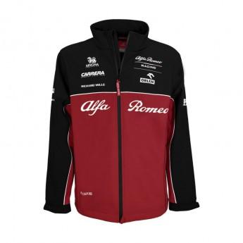 Alfa Romeo Racing férfi kabát Softshell Red F1 Team 2020