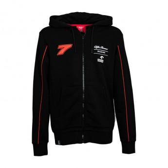 Alfa Romeo Racing férfi kapucnis pulóver Kimi Stealth Redblack F1 Team 2020