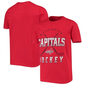 Washington Capitals gyerek póló Digital T-Shirt - Red