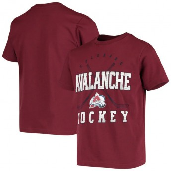 Colorado Avalanche gyerek póló Digital T-Shirt - Burgundy