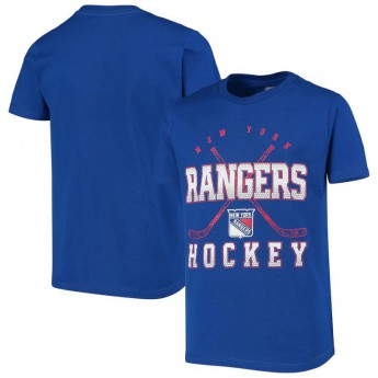 New York Rangers gyerek póló Digital T-Shirt - Royal