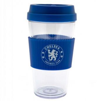 FC Chelsea utazó bögre Clear Grip Travel Mug