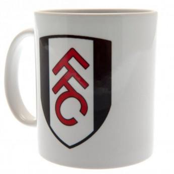 Fulham bögre white logo