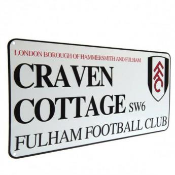 Fulham fali tábla Street Sign