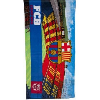 Barcelona stadion törölköző