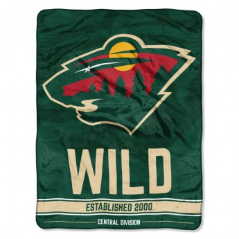 Minnesota Wild takaró Micro Raschel Throw