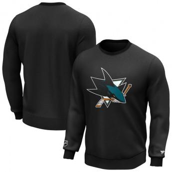 San Jose Sharks férfi pulóver Iconic Primary Colour Logo Graphic Crew