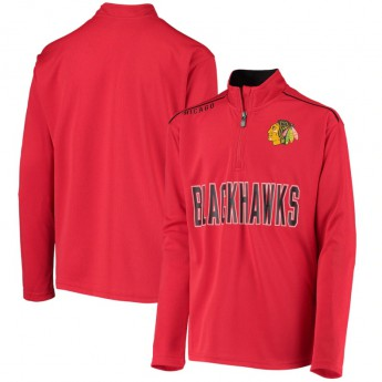 Chicago Blackhawks gyerek pulóver Attacking Zone Quarter-Zip