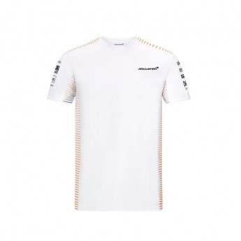 Mclaren Honda férfi póló White F1 Team 2021