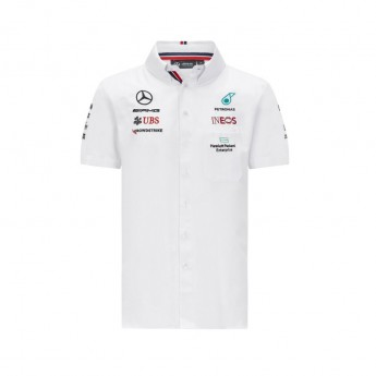 Mercedes AMG Petronas férfi ing White F1 Team 2021