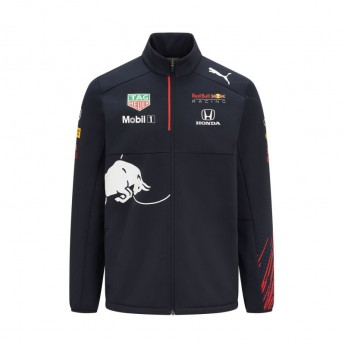Red Bull Racing férfi kabát Teamwear Softshell F1 Team 2021