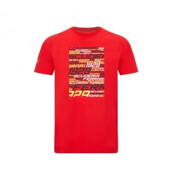 Ferrari férfi póló Graphic PUMA Red F1 Team 2021