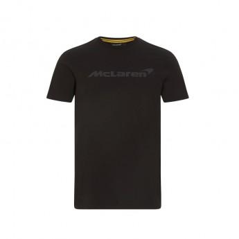 Mclaren Honda férfi póló Stealth Logo Black F1 Team 2021