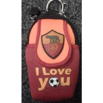 AS Roma mobiltelefon védőtok i love you