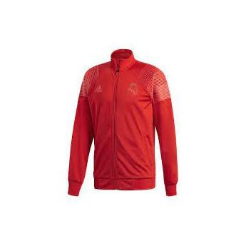 Real Madrid férfi kabát 18 Icons track red