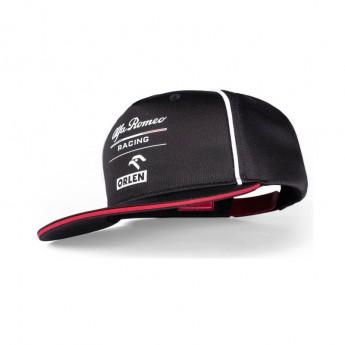 Alfa Romeo Racing baseball flat sapka Orlen black F1 Team 2021