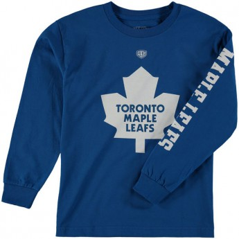 Toronto Maple Leafs gyerek póló Old Time Hockey Two Hit Long Sleeve