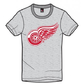 Detroit Red Wings Póló Majestic Jask