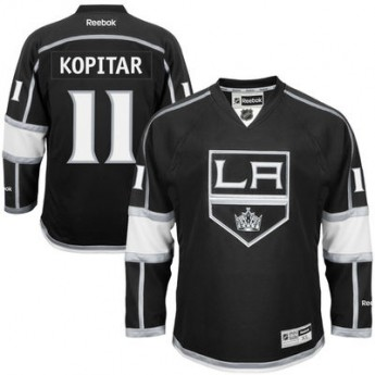 Los Angeles Kings Mez Anze Kopitar Premier Jersey Home