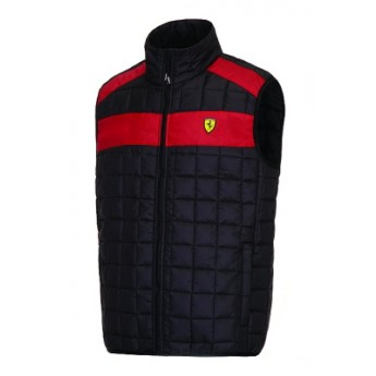 Scuderia Ferrari férfi fekete mellény black