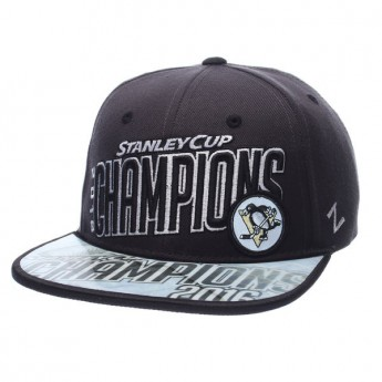 Pittsburgh Penguins Siltes sapka 2016 Stanley Cup Champions Snapback