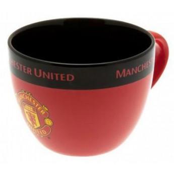 Manchester United bögre Cappuccino logo