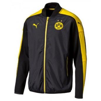 Borrusia Dortmund férfi fekete melegítő kabát cup stadium