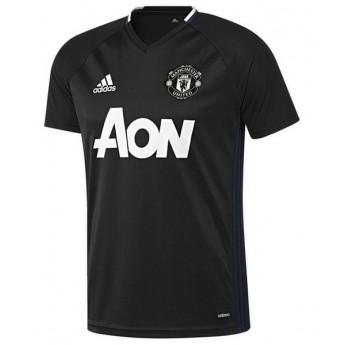 Manchester United férfi fekete tréning póló trg black