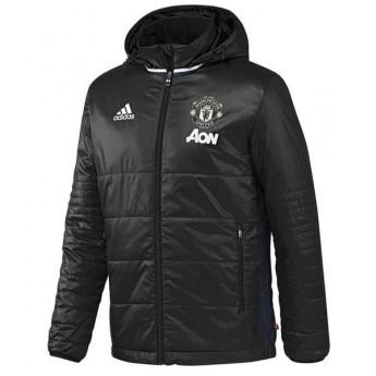 Manchester United férfi fekete téli kabát pad jkt black