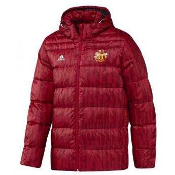 Manchester United férfi piros téli kabát down jk