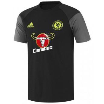 FC Chelsea férfi fekete póló carabao