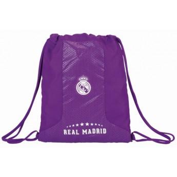 Real Madrid szatyor gym bag purple