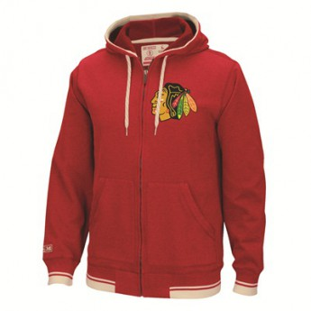 Chicago Blackhawks Pulóver Full Zip Hood 2016