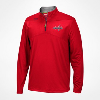 Washington Capitals férfi pulóver Center Ice Quarter-Zip Baselayer