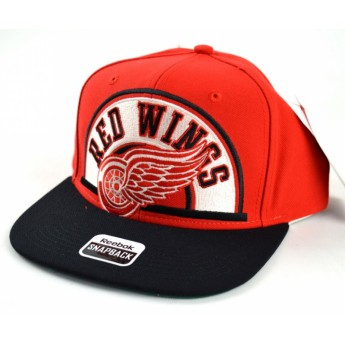 Detroit Red Wings Siltes sapka Arched Snapback