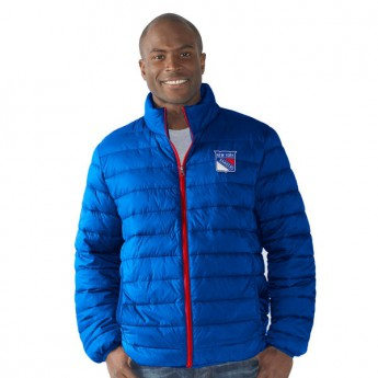 New York Rangers kabát Carl Banks Packable FZ