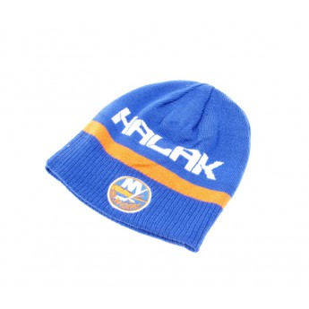 New York Islanders Téli sapka #41 Jaroslav Halak Player Reversible Knit