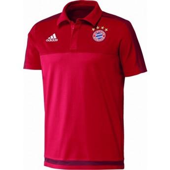 Bayern München férfi póló rot
