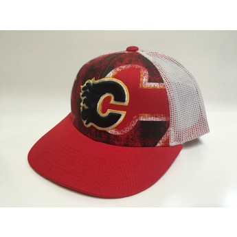 Calgary Flames Siltes sapka Print Structured