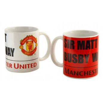 Manchester United kerámia bögre Sir Matt