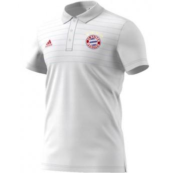 Bayern München férfi fehér galléros póló white Ssp