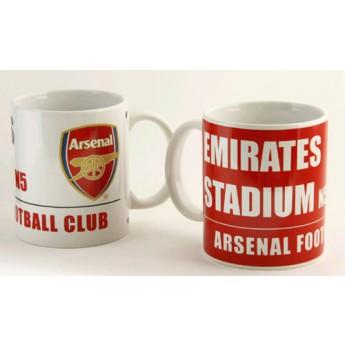 FC Arsenal stadium kerámia bögre 2db