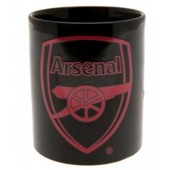 FC Arsenal kerámia bögre black